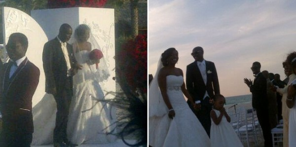 Tu Face and Annie's wedding