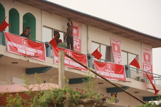 African Peoples Congress office in Abuja (1)