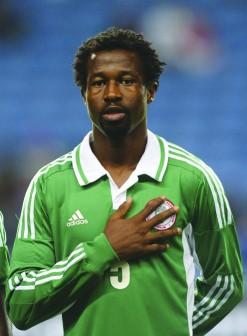 Nigeria's defender Ambrose Efe
