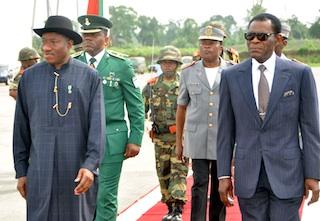 Jonathan arrives Equatorial Guinea to begin 2-day tour