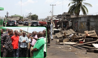 Ladipo market- another section of the filthy market