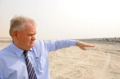 David Frame, MD of South Energyx Nigeria. AFP photo