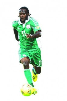 •Nigeria's Victor Moses is seen as one of the high profile stars to play against Mexico in May.
