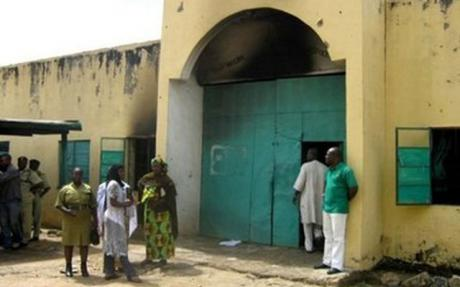 a typical Nigerian prison