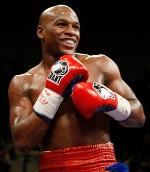 Floyd Mayweather:taunts potential opponents