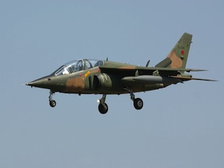 a Nigerian Alpha jet