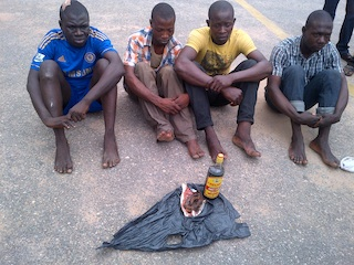 suspected human parts sellers