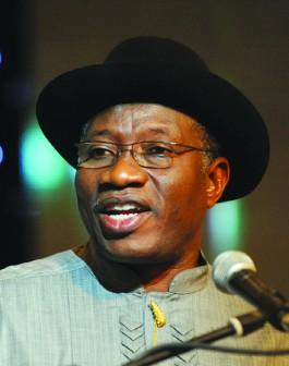 President Goodluck Jonathan:is he a Mandela?