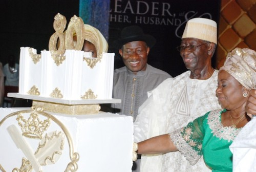 Anenih: a stylish birthday cake for the man called