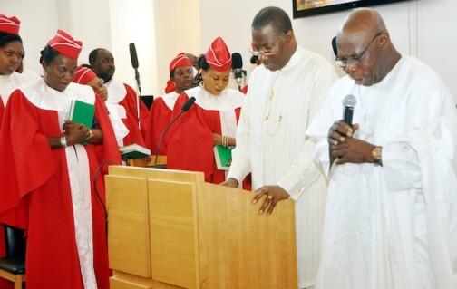 Obasanjo prays for Jonathan