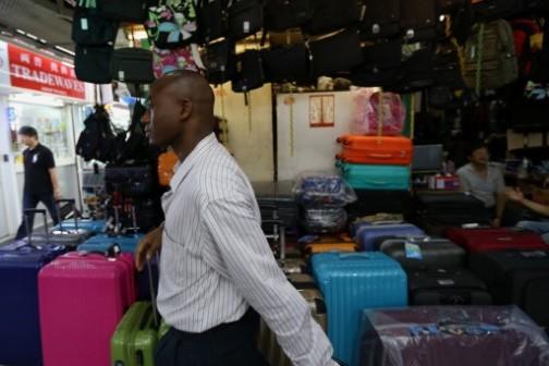 Ali Diallo at his multi-million dollar store