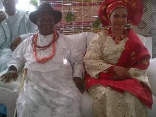 Chief Clark and his wife Bisola