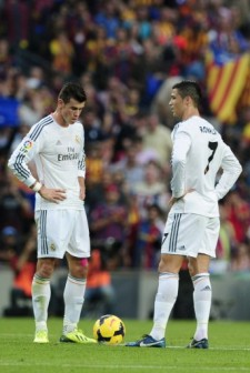 Gareth Bale and Ronaldo: a disappointing performance by Bale