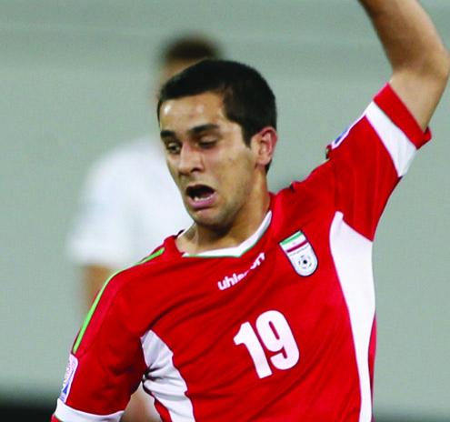 Iran's Yousef Seyyedi