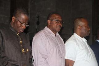 Jonathan with Governors Obi and Akpabio