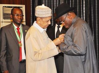 NMA visit to Goodluck Jonathan