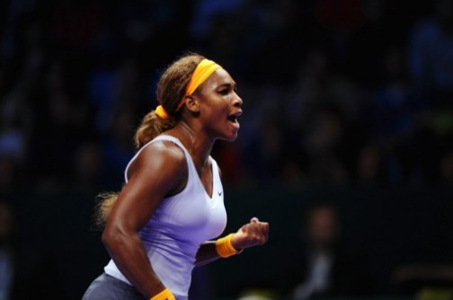 Serena Williams: wins season ending championship