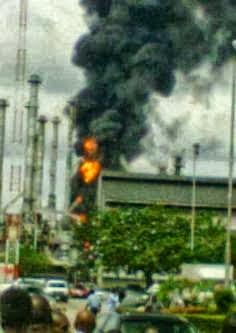 Warri Refinery Fire