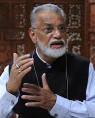 Koppillil Radhakrishnan , chairman of India's Space programme
