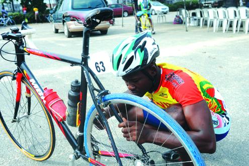 CYCLING-ECOWAS-NIGERIA-BENIN