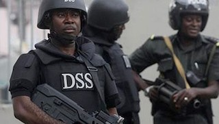 DSS operatives in Abuja