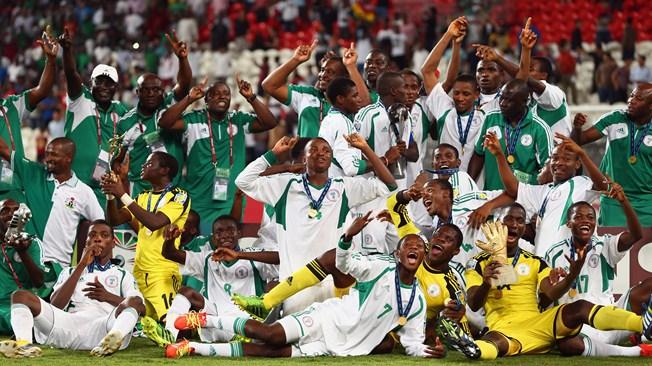 Golden Eaglets- World Champions