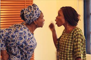 Kemi Lala, right, in another scene