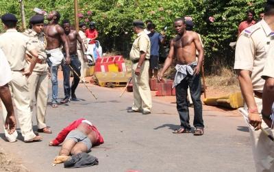 Scene of murder- Nigerians in Goa