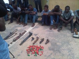 The Lagos robbery suspects