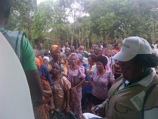 voters queue in Nnewi