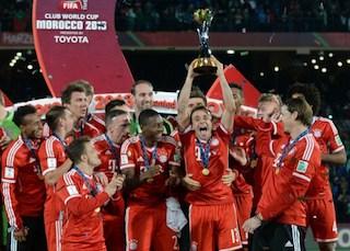 Joyous: Bayern players winners again