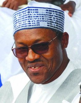Buhari: also absent