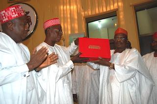 Kwankwaso presents budget to protempre Speaker