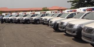 Ogun gives 50 patrol vehicles to police