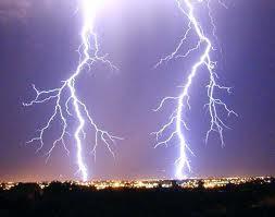 lightning sparks