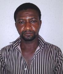 ukpabi paul during arrest