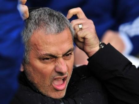Mourinho: enjoys putting rivals under pressure