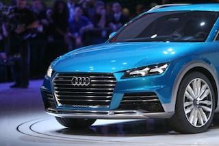 The Audi E-Tron Quattro Allroad Concept vehicle