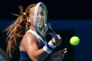 Cibulkova: makes Aussie final