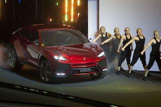 Lamborghini's SUV Urus unveiled in beijing