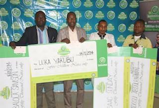 Luka Yakubu and other Glo winners