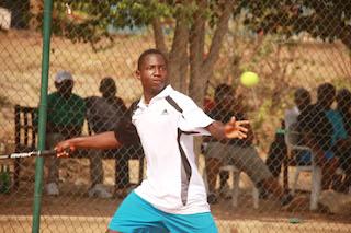 Michael Michael, representing Nigeria team, 2nd winner in under 16 . Photo Femi Ipaye