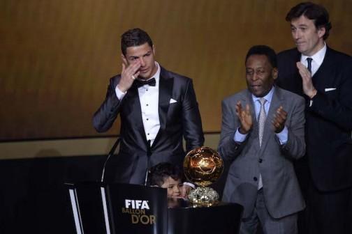 Ronaldo 2013 winner FIFA BALLON D'OR