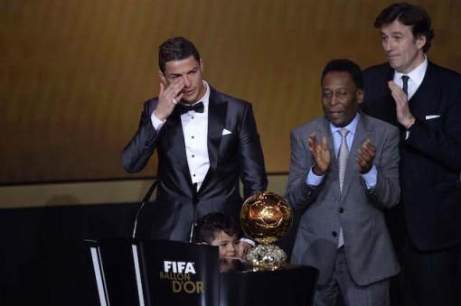 Ronaldo 2013 winner BALLON D'OR