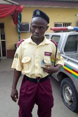 The fake LASTMA officer, Obadeyi