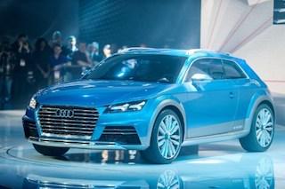 The Audi E-Tron Quattro in full view