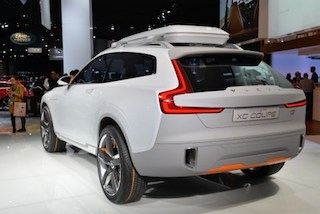 The Volvo XC Coupe