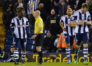 Anichebe: a dramatic equaliser and a yellow card