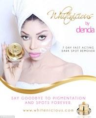 Dencia and her whitenicious cream