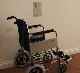 Disabled refuge outstation: the standard